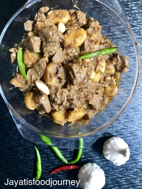 Garlic Pepper Liver Fry